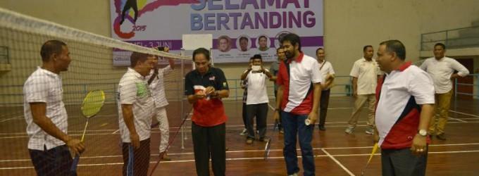 Wagub Buka Aceh Open Tournamen Bulu Tangkis