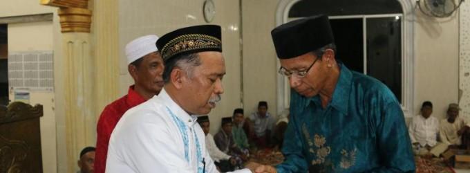Pemerintah Aceh Akhiri Safari Ramadhan di Pantai Barat Selatan