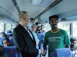 [FOTO]: Pertemuan Gubernur dengan Migran Sri Lanka