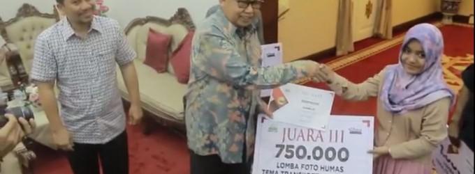 [Video] Penyerahan hadiah pemenang lomba foto TransKoetradja