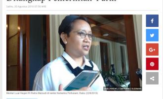 Pantau Kondisi YU, Pemerintah Aceh terus Berkoordinasi dengan Kemenlu