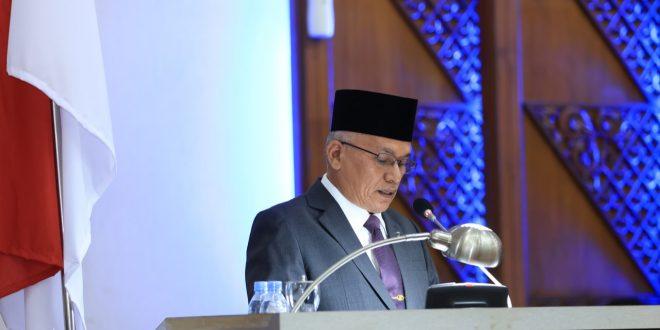 Sekda Sampaikan Rancangan Qanun Aceh Tentang Pertanggungjawaban Pelaksanaan APBA Tahun Anggaran 2020 thumbnail