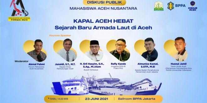 Pemerintah Aceh Dukung Pelaksanaan Diskusi Cegah Hoaks KMP Aceh Hebat thumbnail