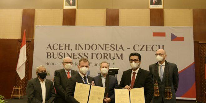 Pemerintah Aceh Buka Pintu Investasi untuk Pengusaha Republik Ceko thumbnail