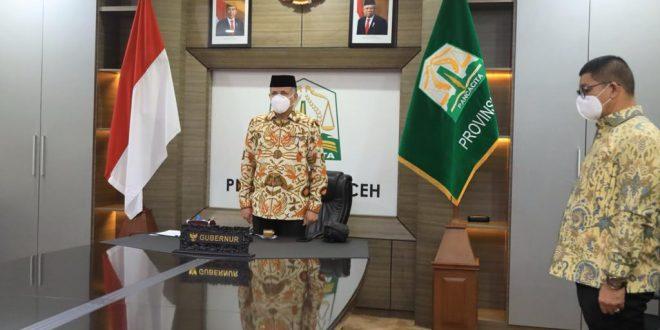 Gubernur Aceh Ikuti Rakorbangnas BMKG Bersama Presiden Jokowi thumbnail